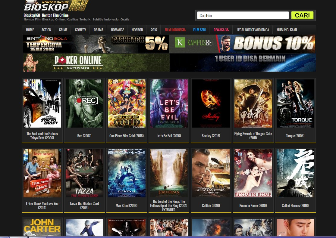 6 Web Streaming Film Gratis,  IndoXXI dan Lk21